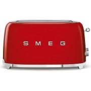 SMEG Toster na 4 kromki 50's Style czerwony