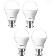 Philips 9W LED Bulb B22 (Pack of 4 )