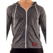 Jack Adams Urban Long Sleeved Hoodie Sweater Snow Black 404-104