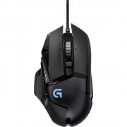 USB miš za igranje optički G G502 Logitech Proteus Spectrum RGB osvjetljenje, podešavanje težine, crna