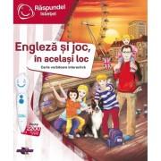 Carte intru in joc, in acelasi loc Raspundel Istetel, 5 ani+, limba engleza