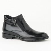Kožne muške duboke cipele HL-H322D-18A crne
