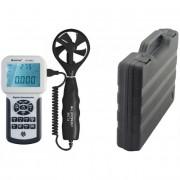 Digitális szélerősség, légáramlás és hőmérsékletmérő, Holdpeak 856A