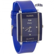 i DIVA'S KAWA Glory Blue BTU-457BU Analog Watch - For Women