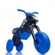 Tricicleta fara pedale Enduro Maxi negru-albastru