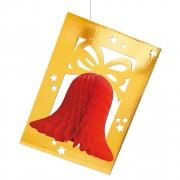 Merkloos Kerstmis kerstklokken 50 cm