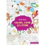 Desene magice culori cifre si litere