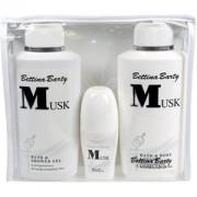 Bettina Barty Perfumes femeninos Musk Set de regalo Hand & Body Lotion 500 ml + Bath & Shower Gel 500 ml + Deo Roll-On 50 ml 1 Stk.