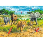 Puzzle Ravensburger - Africa's Animal, 300 piese (13219)