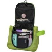 venja Hanging Cosmetic Bag Makeup Organizer Traveling Storage Bag Travel Toiletry Kit(Green)