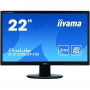 Monitor LED Iiyama ProLite E2283HS-B1 21.5 inch 2ms Black