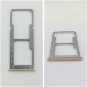 New Sim Tray Holder For OPPO F1S - Gold Colour