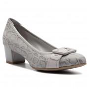 Обувки CAPRICE - 9-22305-22 Lt Grey Comb 208
