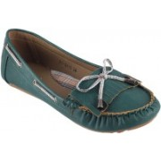 Metro Classic Boat Shoes For Women(Blue)