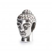 Trollbeads bedel zilver Boeddhahoofd TAGBE-10037