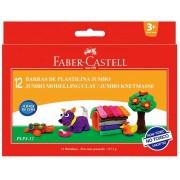 Plastilina, 12 culori/set, 160g, FABER CASTELL