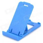 Universel Mini pliant téléphone portable chargeur de bureau - bleu