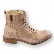 Yellow Cab Cowhide Boots, 8 - Sand
