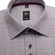 Bărbați cămașă slim fit Willsoor Londra 2096