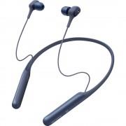 Sony WI-C600N Bluetooth® in ear slušalice u ušima slušalice s mikrofonom, poništavanje buke, NFC plava boja