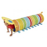Melissa and Doug Sunny Patch Giddy Buggy Tunnel Toy, Multi Color