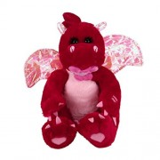 Kanzd Shake Wings Dinosaur Plush Toy Singing Stuffed Animated Animal Kid Doll Gift Christmas Gift (Red)