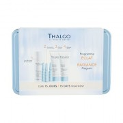 Thalgo Source Marine confezione regalo crema viso giorno 15 ml + maschera viso 15 ml + tonico detergente Éveil á la Mer 35 ml + siero viso 3 x 1,2 ml + škatlica donna