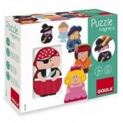 Puzzle Personajes Magneticos Goula - Diset