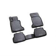 Covorase Floor mats CHEVROLET Spark 2010-, 4 piese.