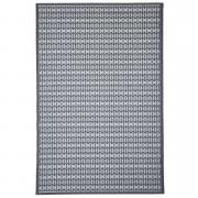 Floorita binnen/buitentapijt Stuoia - antraciet - 194x290 cm - Leen Bakker