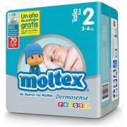 BOX MOLTEX PREMIUM T2 (3-6 Kg.) 280 UNIDADES