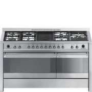 Smeg A5-8 - Opera 150 cm Gas-electric Cooker Stainless Steel