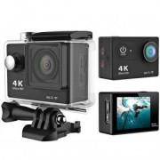 Diel H9 WiFi 4K Actionkamera - Mörkrosa