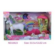 Lutka Defa sa konjem i kočijama ( 27/8423 )