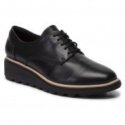 Обувки CLARKS - Sharon Noel 261390754 Black Leather