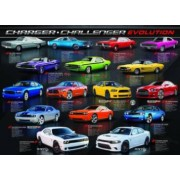 Puzzle 1000 piese Dodge Charger Challenger Evolution
