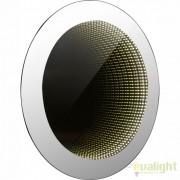 Oglinda cu iluminat LED efect tunel infinit si protectie IP44, 80cm Mara 84018 GL