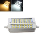 R7S Dimmable 30W 3000LM 118mm 64 SMD 5730 Warm White/White LED Light Bulb AC 85-265V