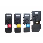 4 Tonerkartuschen Kyocera Ecosys P5021 cdn / P5021 cdw, TK-5230/ TK-5220 kompatibel