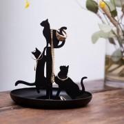 Suport bijuterii 3 pisicute
