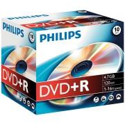 PHI DR4S6J10C/10 - Philips DVD+R 4.7 GB, 16x Speed, Jewelcase 10