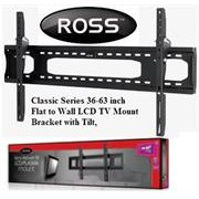 "Ross Classic Series 36-63"" Flat to Wall LCD TV"