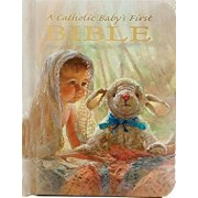 Catholic Baby's First Bible-Nab, Hardcover/Ruth Hannon