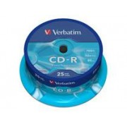Verbatim CD-R Cakebox Verbatim 25st/fp