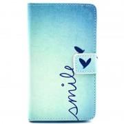 Nokia Lumia 625 Wallet Leather Case - Smile
