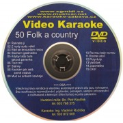 Video Karaoke Folk a Country
