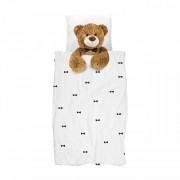 Snurk dekbedovertrek Teddy-2-persoons 200 x 220 cm incl. 2 kussenslopen 60 x 70 cm