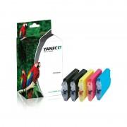Yanec Brother LC-1000 / LC-970 Zwart en Kleur (5 -Pack)(Yanec)
