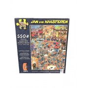 "CARTOON CAPERS by JAN VAN HAASTEREN Art ""The Fire Station"" 550 Piece JIGSAW Puzzle"