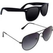 John Dior Wayfarer, Aviator Sunglasses(For Boys & Girls)